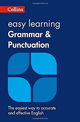 Collins Easy Learning English - Easy Learning Grammar And Punctuation New Paperb