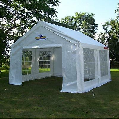 4m x 4m Gala Tent Marquee Original (PE) Commercial Quality -  (NOT a Party Tent)