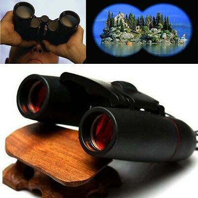 Outdoor Travel 30x 60 Zoom Folding Day Night Vision Binoculars Telescope +Bag KF