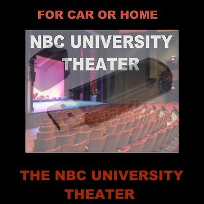 Nbc University Theater. Enjoy Great Novels Adapted For Radio In Your Car Or Home