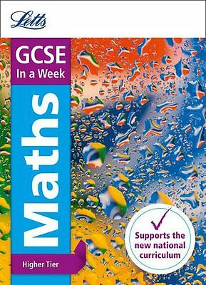 Letts GCSE In a Week - New 2015 Curriculum