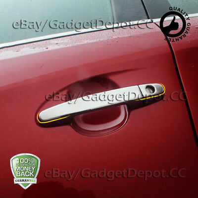 For 2001-2007 Toyota Highlander Chrome Door Handle Covers w/ PSG side Keyhole