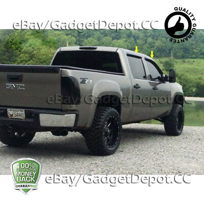 For 2007 2008 2009 2010 2011 2012 2013 GMC Sierra 1500 Acrylic Window Visors