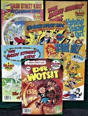 Job Lot Bundle - 6 x Bash Street Kids Beano Special Comics - 22,24,28,30,32,34