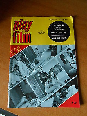 PLAY FILM CINEROMANZO supplemento a CINEPLAY  n.11 - DICEMBRE 1972