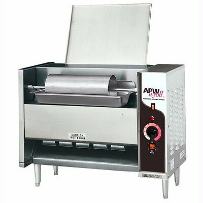 APW Wyott M-95-3 Electric Countertop Bun Grill Conveyor Toaster.