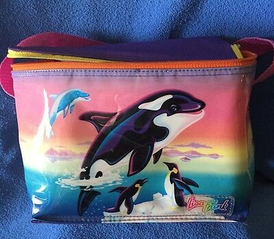 PENGUIN! Lisa Frank VINTAGE Insulated Bag early 80s PVC