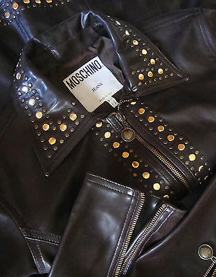 JACKET  vintage 90's woman MOSCHINO Jeans made in Italy TG.46 -M/L circa RARE