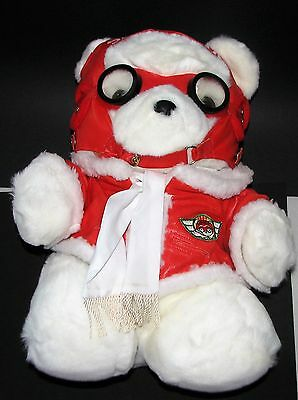 Dayton Hudson 1987 SANTA BEAR Aviation Pilot, with Price Tag and Bag
