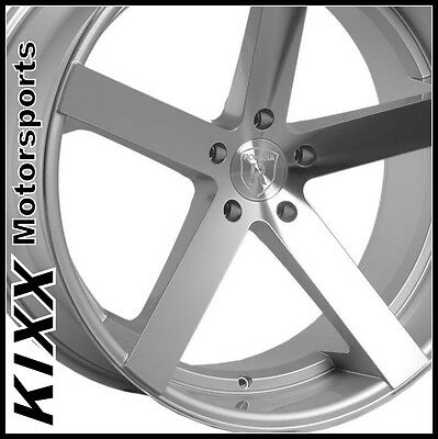 """20"""" ROHANA RC22 20x9/11 SILVER WHEELS For MERCEDES BENZ W219 CLS500 CLS550 CLS63"""