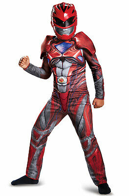 Brand New 2017 Red Power Ranger Classic Muscle Child Costume