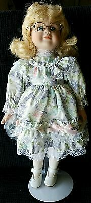 "Princess House  Collectible Doll  "" LAUREN "". Porcelain.  New in Box"