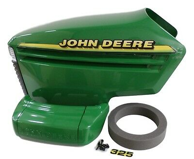 John Deere 325 complete hood with serial # under 070000 AM132688, AM132529