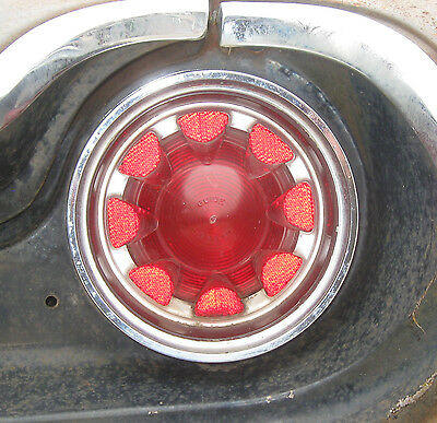 1961 61 Oldsmobile Dynamic 88 Right Rear Taillight / Tail Light Assembly