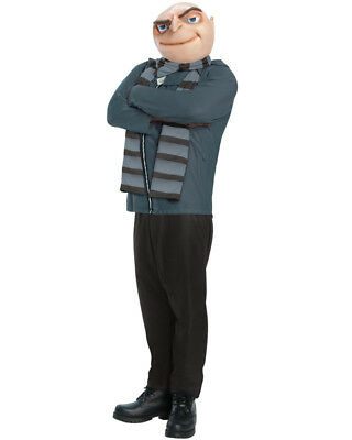 Despicable Me Gru Mens Costume Size STD