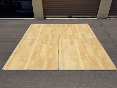Palmer Snyder Indoor Dance Floor with edges, 41 4x4 Sections