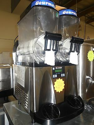 Used! Bunn - Granita Frozen Drink/slush Machine W/ 2 Hoppers