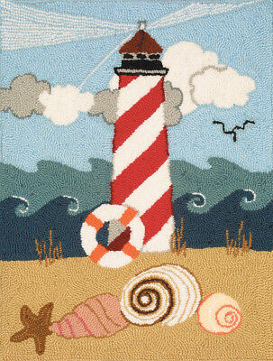 "Heritage Rug Hooking Kit 20""X27"" Lighthouse 73017"