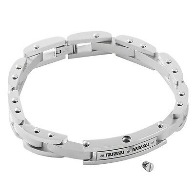 Cremation Jewellery Ashes Urn Stanless Steel Bracelet Memorial Ash Male Mens Uk
