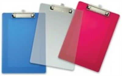 """Officemate International 83007 9"""" X 12-1/2"""" Assorted Plastic Clipboard"""