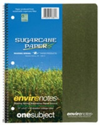 """Roaring Spring Paper Company 13361 8.5"""" X 11"""" 1 Subject Wirebound Notebook Assor"""
