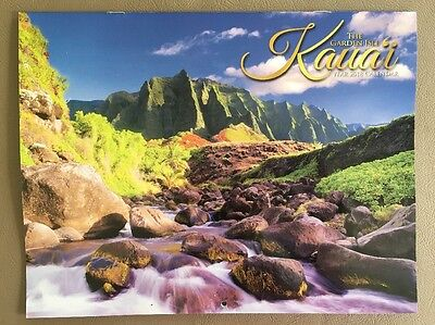 Kauai The Garden Isle Hawaii 12 Month 2018  Calendar  FREE SHIPPING