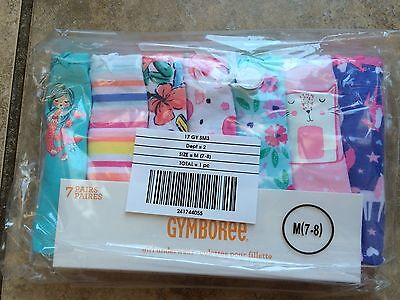 NWT Gymboree Girls Panties Underwear 7pairs 5/6, 7/8, 10/12 unicorn mermaid bird