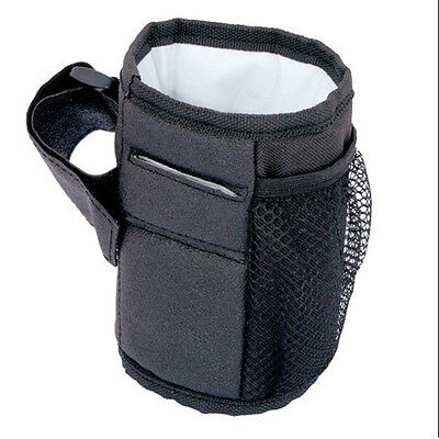 Portable Waterproof Baby Stroller Insulation Cup Bottle Hanging Bag Organizer