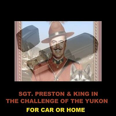 Sgt Preston Of The Yukon. Enjoy All 614 Old Time Radio Shows In Your Car Or Home