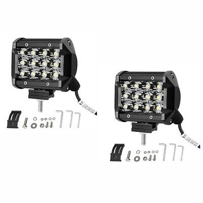 2pcs 4inch 36W LED Work Light Bar Driving Spot Lights for Off-road Car ATV SUV