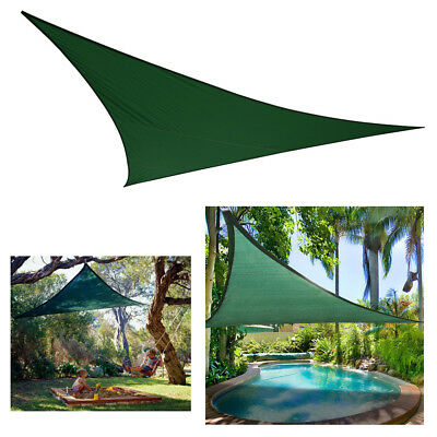 Polyester Fabric Sun Sail Shade Sunscreen UPF40+ Cover + Stainless Steel D Ring
