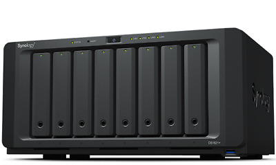 Synology DiskStation DS1819+ 4GB Quad Core 2.1GHz 8 Bays NAS - Diskless