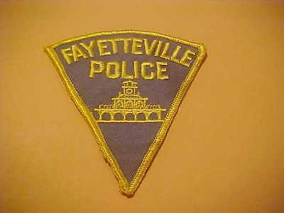 Fayetteville North Carolina Police Patch New