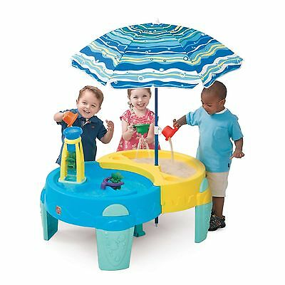 Step2® Shady Oasis Sand & Water Table™  with Umbrella