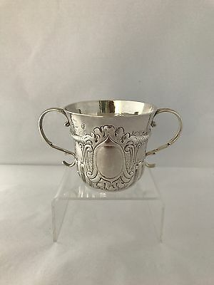 Silver George I Porringer Or Loving Cup 1721 London Joseph Clare