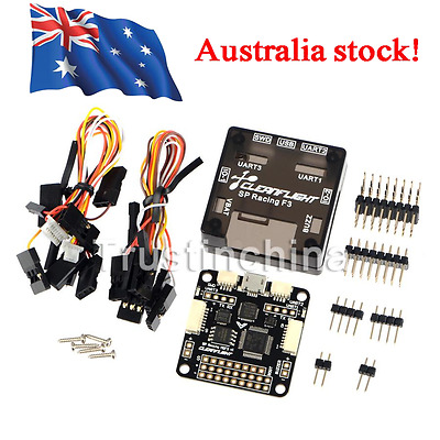 Pro SP Racing F3 Flight Controller Deluxe 10DOF with Barometer for FPV QAV250 AU