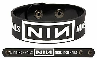 NINE INCH NAILS Rubber Bracelet Wristband Hesitation Marks NIN
