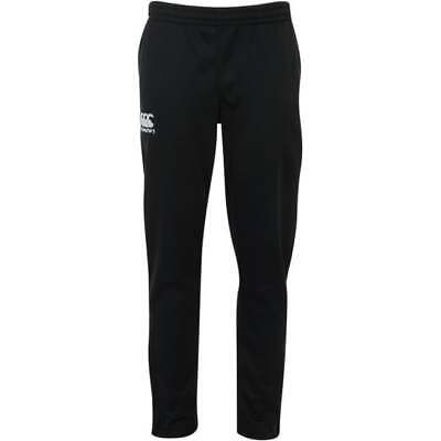 Canterbury Kid's Stretch Tapered Poly Knit Skinny Pants Black