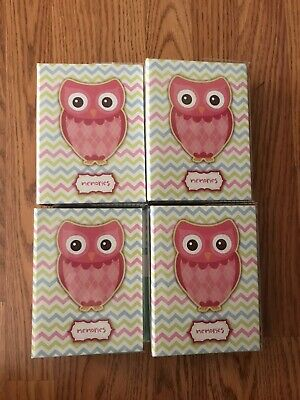 100 Book Bound Picture Photo Album (PINK OWL, MEMORIES)