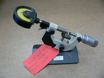 """Mahr Federal Bench Micrometer 0-1"""" 0.00005"""""""