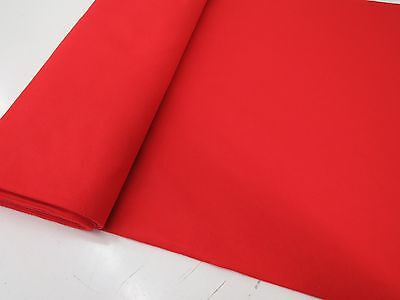 RED FELT BAIZE FABRIC- For Poker/Card Tables  60 inches Wide! Buy What You Need