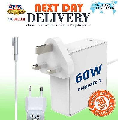 "Generic UK Plug 60W AC Power Adapter Charger for 13"" Macbook Pro A1278 2009-2011"