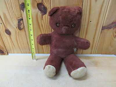 Vintage Plush Bear Daikin w/ Music Box Plays Rockabye Baby Stuffed Animal