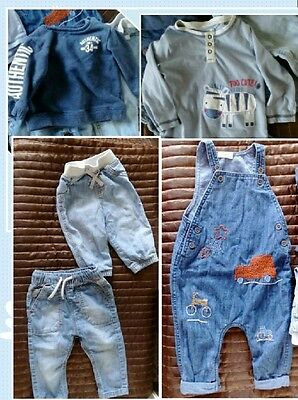 Baby Boys Clothes Bundle NEXT 6-9 Months SEE NOTES