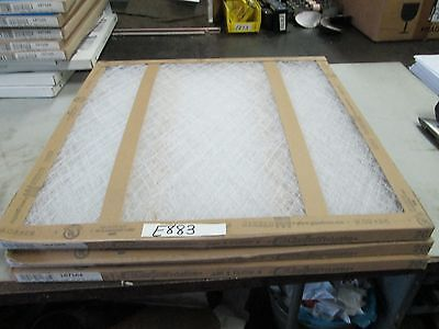 "GlasFloss Air Filter 20"" x 20"" x 1"" 187164 Lot of 3 (New)"