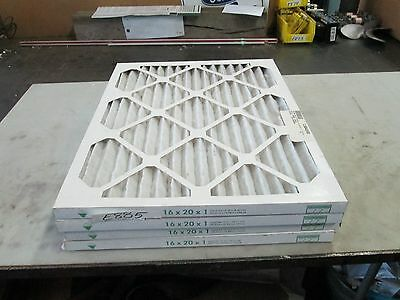 "NAA Filter (Pleated) 16"" x 20""x 1"" P/N 429209 #1304558 Lot of 4 (New)"