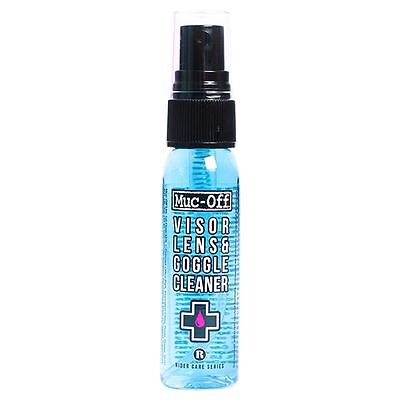 MUC OFF MOTORCYCLE BICYCLE HELMET AND VISOR CLEANER - 30ml - BRAND NEW - M212