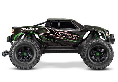 Traxxas 8S X-Maxx 4WD Brushless Electric Monster RTR Truck, Green
