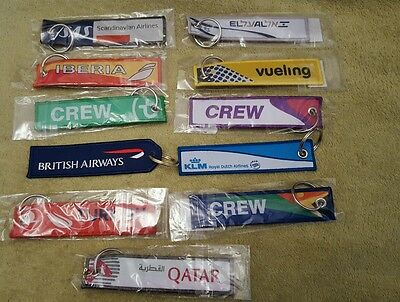 Airline Crew Keyrings