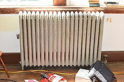 "Antique Vintage American Radiator Rococo Hot Water or Steam Radiator 49"" 20-Fins"